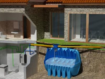 raccolta acqua piovana